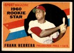 1960 Topps #130   -  Frank Herrera Rookie Star Front Thumbnail