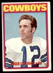 1972 Topps #200  Roger Staubach  Front Thumbnail