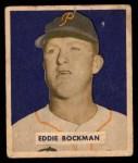 1949 Bowman #195  Eddie Bockman  Front Thumbnail