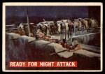 1956 Topps Davy Crockett #56 ORG  Ready for Night Attack  Front Thumbnail