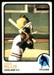 1973 Topps #430  Vida Blue  Front Thumbnail