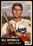 1953 Topps #272  Bill Antonello  Front Thumbnail