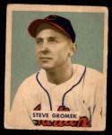 1949 Bowman #198  Steve Gromek  Front Thumbnail