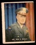 1950 Topps Freedoms War #202   General Omar N. Bradley  Front Thumbnail
