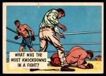 1957 Topps Isolation Booth #68   Most Knockdowns in Fight Front Thumbnail