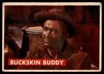 1956 Topps Davy Crockett #1 GRN  Buckskin Buddy  Front Thumbnail