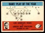 1965 Philadelphia #98   -  Harland Svare Los Angeles Rams  Front Thumbnail