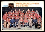 1975 Topps #95   Flyers Team Checklist Front Thumbnail
