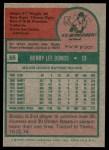 1975 Topps #55  Bobby Bonds  Back Thumbnail