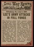 1962 Topps Civil War News #46   Vicious Attack Back Thumbnail