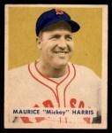 1949 Bowman #151  Mickey Harris  Front Thumbnail