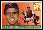 1955 Topps #177  Jim Robertson  Front Thumbnail