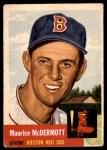 1953 Topps #55  Mickey McDermott  Front Thumbnail