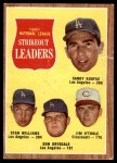 1962 Topps #60   -  Sandy Koufax / Don Drysdale / Stan Williams  / Jim O'Toole NL Strikeout Leaders Front Thumbnail