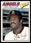 1977 Topps #462  Don Baylor  Front Thumbnail