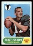 1968 Topps #203  Randy Johnson  Front Thumbnail