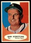 1961 Topps #223  Bob Scheffing  Front Thumbnail