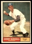 1961 Topps #27  Jerry Kindall  Front Thumbnail