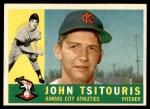 1960 Topps #497  John Tsitouris  Front Thumbnail