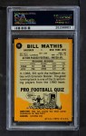1967 Topps #96  Bill Mathis  Back Thumbnail