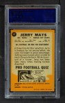 1967 Topps #67  Jerry Mays  Back Thumbnail