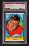 1967 Topps #38  John Bramlett  Front Thumbnail