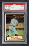 1961 Topps #401   -  Babe Ruth Baseball Thrills Front Thumbnail