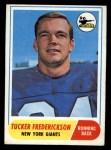 1968 Topps #135  Tucker Frederickson  Front Thumbnail