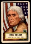 1952 Topps Look 'N See #3  Thomas Jefferson  Front Thumbnail