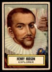 1952 Topps Look 'N See #131  Henry Hudson  Front Thumbnail