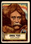 1952 Topps Look 'N See #47  Admiral Robert E Peary  Front Thumbnail