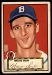 1952 Topps #33 RED Warren Spahn  Front Thumbnail