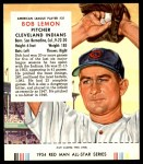 1954 Red Man #21 AL Bob Lemon  Front Thumbnail