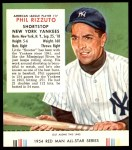 1954 Red Man #17 AL Phil Rizzuto  Front Thumbnail