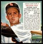 1953 Red Man #5 AL x Nellie Fox  Front Thumbnail