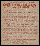 1955 Red Man #4 NL Brooks Lawrence  Back Thumbnail