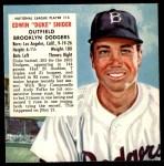 1953 Red Man #14 NL x Duke Snider  Front Thumbnail