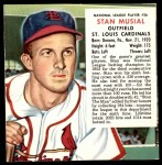 1953 Red Man #26 NL x Stan Musial  Front Thumbnail