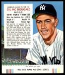 1954 Red Man #25 AL Gil McDougald  Front Thumbnail