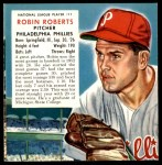 1953 Red Man #11 NL x Robin Roberts  Front Thumbnail