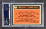 1966 Topps #579   -  Davey Johnson / Frank Bertaina / Gene Brabender Orioles Rookies Back Thumbnail