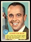 1963 Topps Astronauts 3D #10   Astronaut Alan Shepard Front Thumbnail