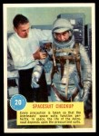 1963 Topps Astronauts 3D #20   -  Gus Grissom Spacesuit Checkup Front Thumbnail