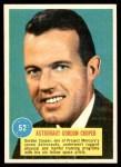 1963 Topps Astronauts 3D #52   -  Gordon Cooper Astronaut Gordon Cooper Front Thumbnail