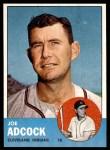 1963 Topps #170  Joe Adcock  Front Thumbnail