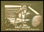 1963 Topps Astronauts 3D #14   -  Alan Shepard Picking up Shepard Back Thumbnail