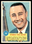 1963 Topps Astronauts 3D #18   -  Gus Grissom Astronaut Virgil Grissom Front Thumbnail