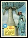1963 Topps Astronauts 3D #41   -  John Glenn Glenn in training Front Thumbnail