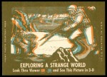 1963 Topps Astronauts 3D #33   -  John Glenn Glenn and the F-106 Back Thumbnail