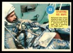 1963 Topps Astronauts 3D #43   -  John Glenn Studying his maps Front Thumbnail